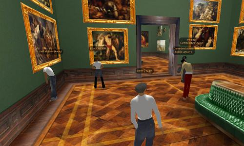 Gemäldegalerie Alte Meister in Second Life