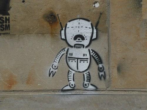 Alien in Dresden-Neustadt