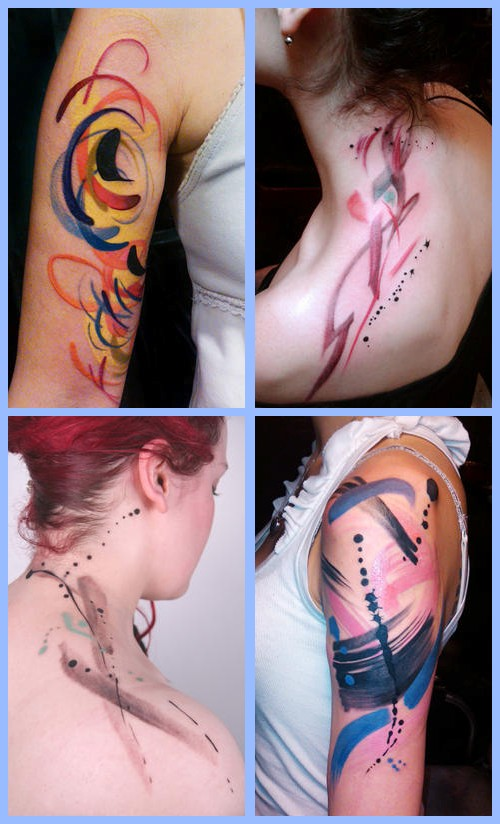 Tattoo-Künstlerin Amanda Wachob