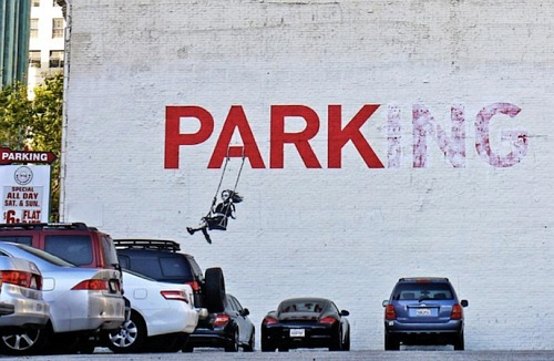 Bansky Parking LA