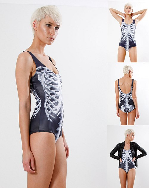 Black Milk - Black Ribs Swimsuit