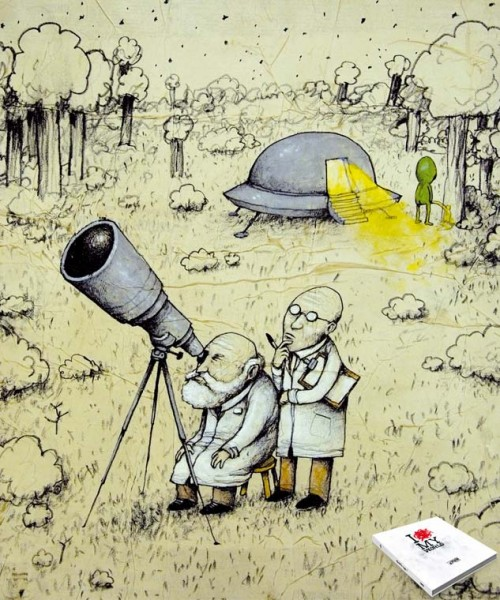 Dran - I Love My World - Aliens