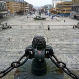 """Blick auf Kungsportsavenyn (""""Avenyn aka The Avenue) vom Kunstmuseum Göteborg"""