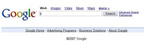 google weiß nicht alles!