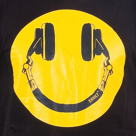 shirtdesign: addict - smiley