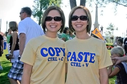 Copy & Paste Twins