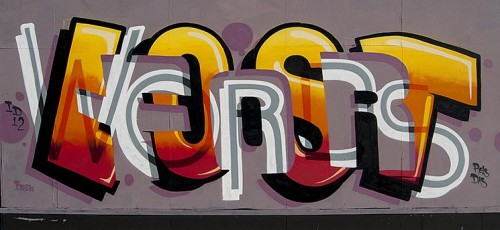 Lost For Words Graffiti