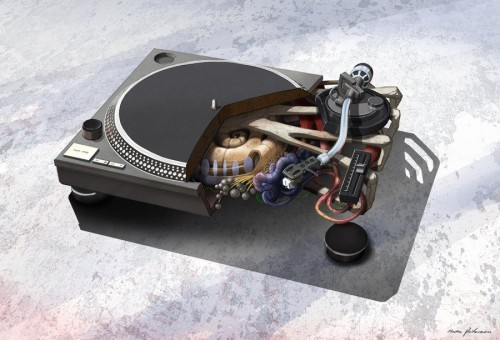 Anatomy Art: Technics MK1210