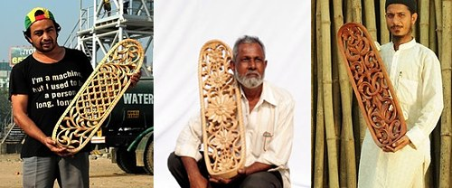 Skateboards aus Indien 01