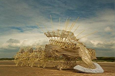 Strandbeest von Theo Jansen