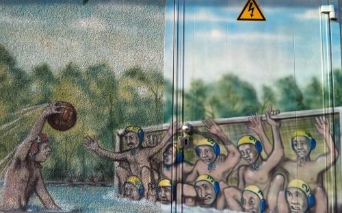 Wasserballpunktspiel, Foto 3
