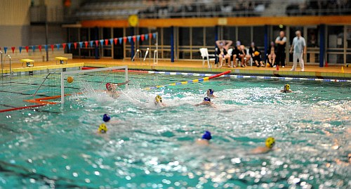 Water Polo Tilt-shift Foto 2