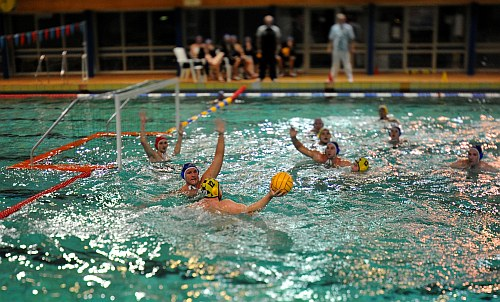 Water Polo Tilt-shift Foto 3