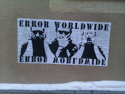 Error Worldwide Poster